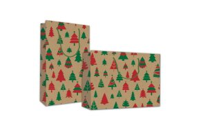 "PAPER BAG ""CHRISTMAS TREES"""